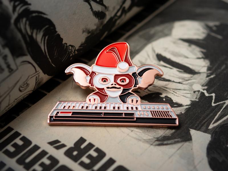 Gremlins: Showtime Pin enamel pin pin gizmo mogwai gremlins dkng studios vector dkng nathan goldman dan kuhlken