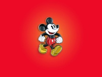 Official Mickey Mouse Enamel Pin