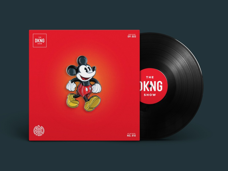 The DKNG Show (Episode 22) enamel pins enamel pin disney mickey mouse design illustration vector dkng nathan goldman dan kuhlken