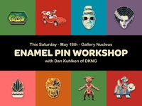 Enamel Pin Workshop w/ DKNG