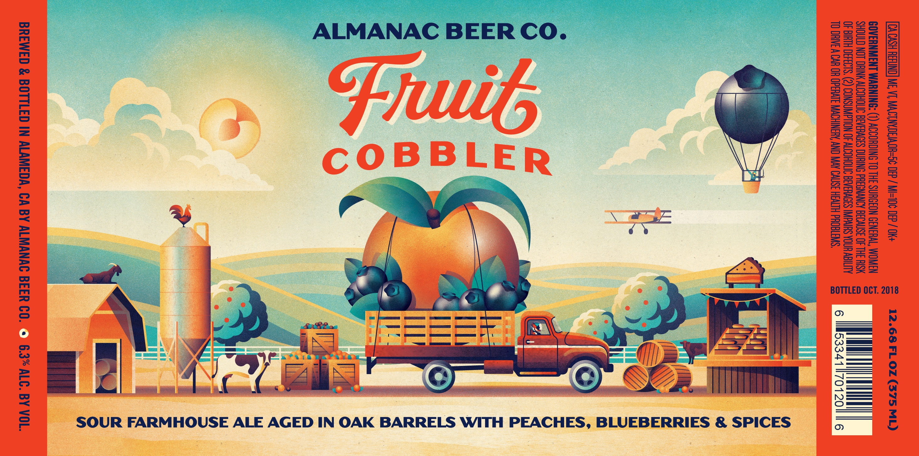 Fruit cobbler label final