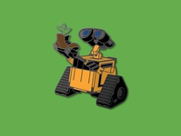 WALL-E Enamel Pins