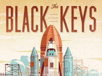 Black Keys // Pheonix, AZ Poster