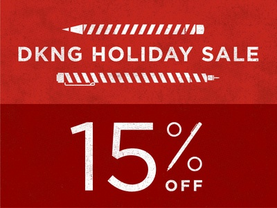 DKNG 2012 Holiday Sale