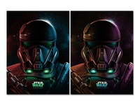 Imperial Death Trooper (Star Wars: Rogue One) Posters