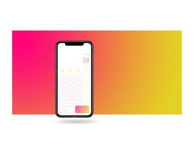 Daily UI :: 004 / Calculator