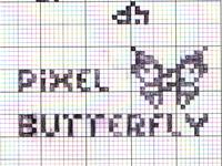 Pixel Butterfly