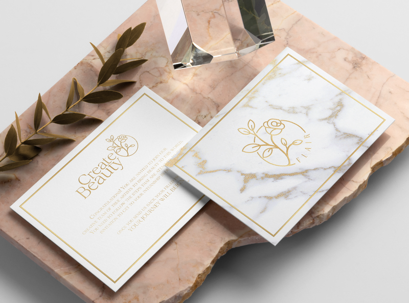 Flair Cards and Logo cards design print design invitations logo design branding design logo vector adobe illustrator