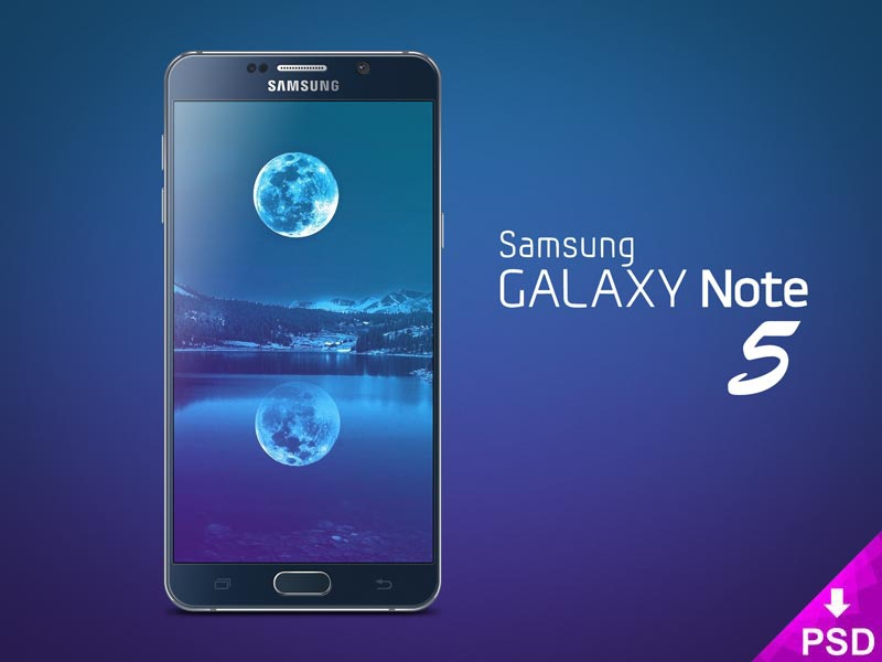 Galaxy Note 5 Mockup use samsung psd photoshop personal note mockup freebie download for free design commercial 5