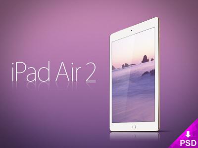 Apple iPad Air 2 Mockup resource psd photoshop new mockup ipap freebie free design apple air 2