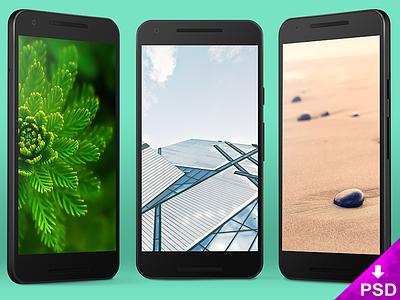 Nexus 5x Vector Mockup smartphone resource personal nexus mockup freebie free download design commercial