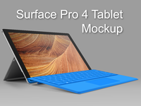 full prev - Surface 4 Pro Tablet Mockup