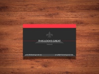 1600x1300 bussines cards mock up - Business Card Mock-up