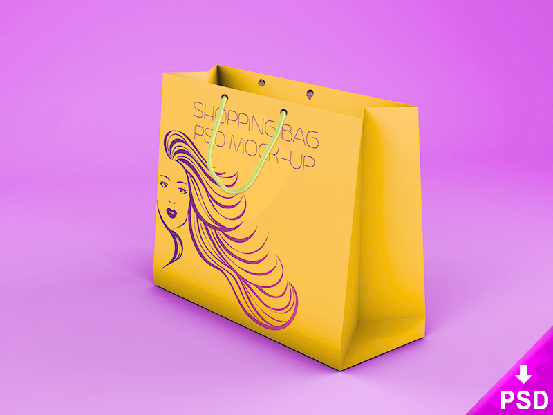 shopping bag mock up by barin christian dribbble dribbble