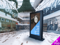 Mall Billboard Psd Mockup