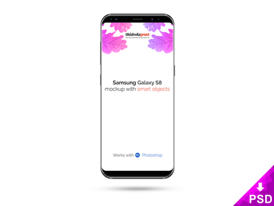 Samsung Galaxy S8 Mockup design download free get gadget freebie mockup s8 galaxy samsung