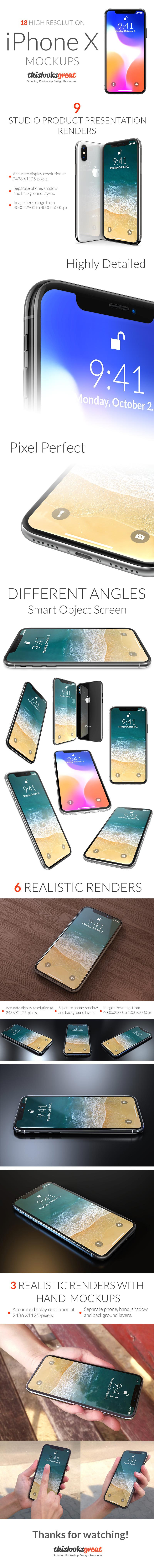 Prezentare lunga iphone x