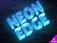 Neon Edge Mockup