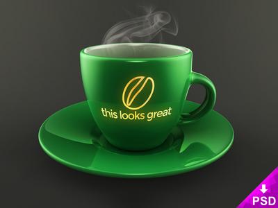 Coffee Cup Mockup Freebie - High Resolution