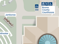 Courthouse Plaza Map