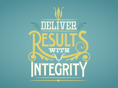 VU Values: Deliver Results With Integrity