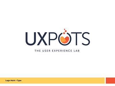 UXpots logo - coming soon design web branding ux typography logo comingsoon ui graphic design