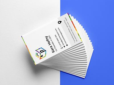 Postex business card design vector illustration comingsoon graphic design business card branding identity design