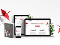 Ilerra website design