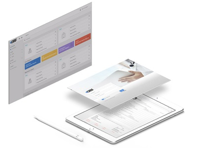 Ecms system ui app apps application app branding desktop uidesign ux ui design ux designer medical app