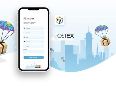 postex app UI