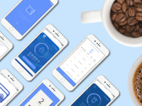 Coffee App Screens