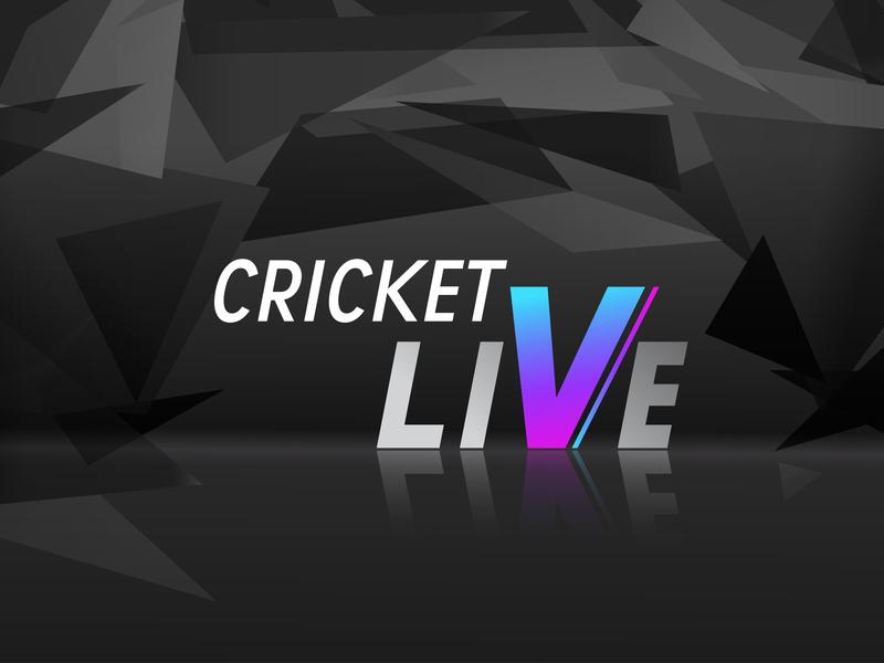 Criket live identity type website ipl live cricket creative cricket art character illustrator lettering minimal flat animation web typography branding vector design illustration