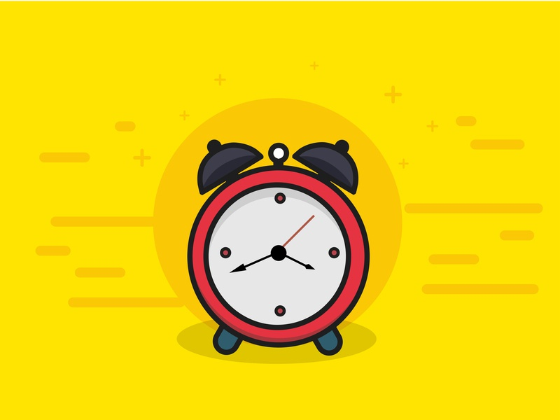Minimal Alarm clock icon logo abstract alarm vector clock alarm ui art vector minimal illustrator illustration flat design creative
