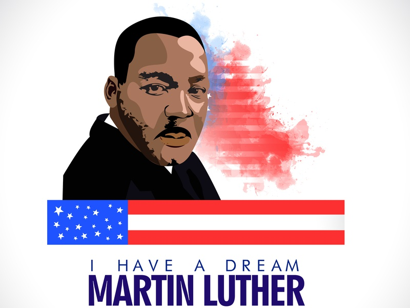 Martin Luther king design character fanart digitalpainting vectorartwork vectorart vector graphic artist artoftheday instaartist martin luther king draw art creative illustration sketch graphic art artsy graphic  design graphic