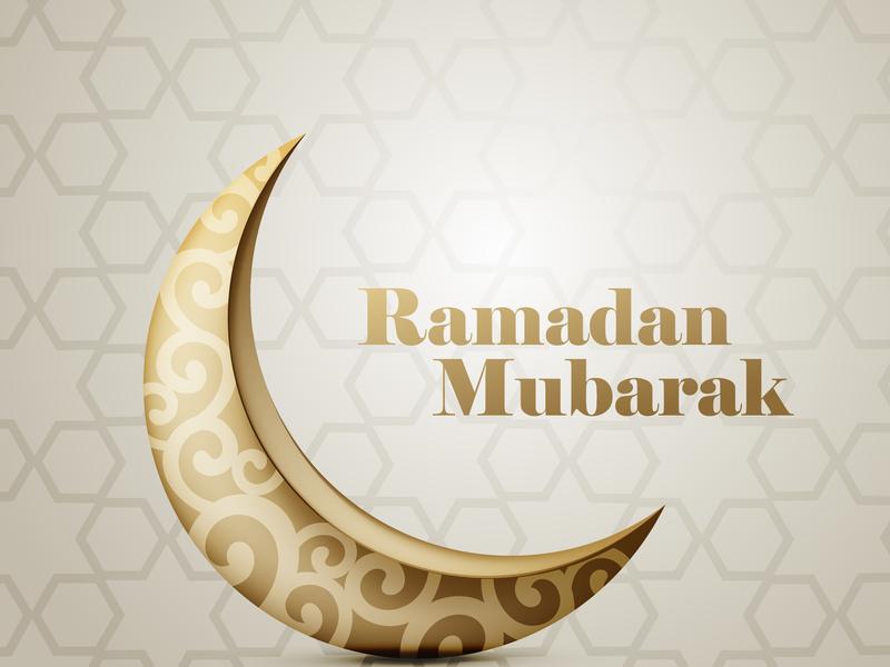 Ramadan Mubarak art poster flat abstact design digitalpainting typography branding digitalartist advertisement love ramadan mubarak ramadan abstract advertising minimal illustrator vector creative illustration