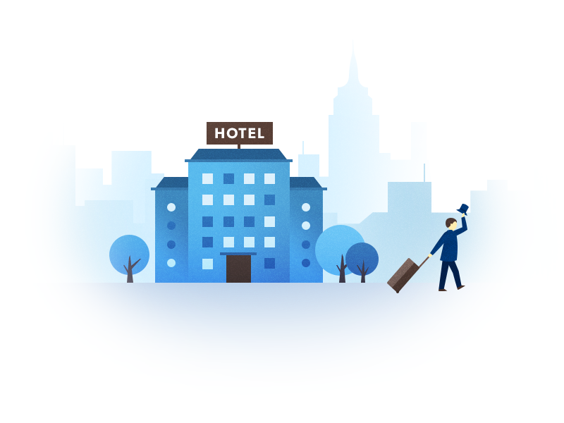 Hotel Check Out By Elena Snezhinskaya Dribbble Dribbble