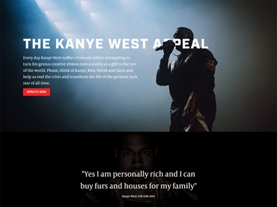 Kanye West Relief Fund