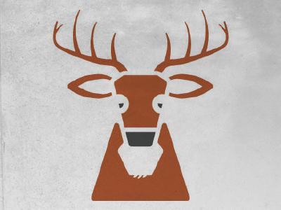 Deer Vector vector illustration icon