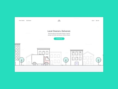 New Starchup Homepage icons illustration web minimal simple ui clean brand startup homepage website design