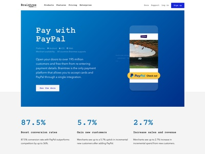 Pay with PayPal payments website feature payment method developer clean code simple paypal braintree web