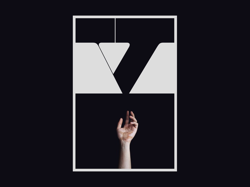 5 Poster photography minimal hand typography poster