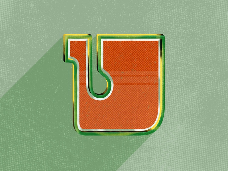 Uppercase U for 36 Days of Type