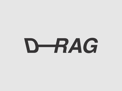 Drag Calligram by Wola Thomas