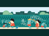 Community Improvement Illustration