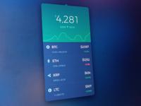 Cryptocurrency Widget
