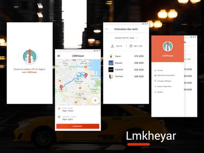 UI/UX App Design Lmkheyar