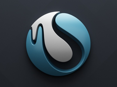 mS logo c4d vray logo brand