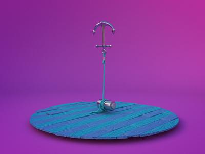 Anchor modeling arnoldrender rende c4d arnold