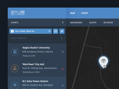 Cyber Security Application cyber security web interface application dashboard ux ui
