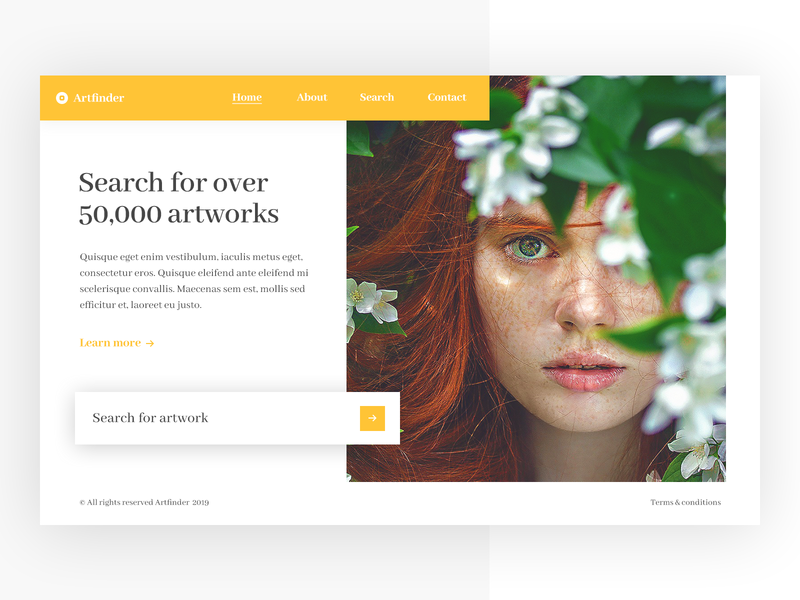 Artwork search engine artwork gallery search engine art search